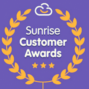 Sunrise Customer Awards Winner - Best Integration Award