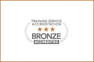 Bronze accreditation for IT training service